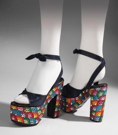 d59a213a7224f 96 Best Disco Shoes images in 2019 | Disco shoes, Creeper, Platform ...