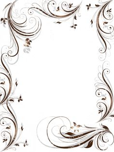 .                                                                                                                                                                                 Mais Borders For Paper, Borders And Frames, Boarder Designs, Glass Engraving, Parchment Craft, Frame Clipart, Paper Frames, Writing Paper, Calligraphy Art