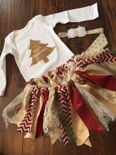 The perfect outfit for your little princess this Christmas. Everything is…
