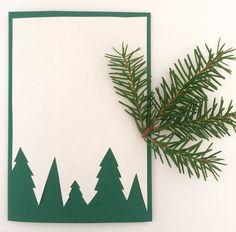 Schicke Karte für eure Liebsten zu Weihnachten l DIY