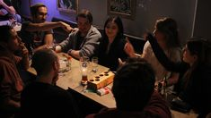 Playing Noir Werewolf at my favourite local Bar with close Friends...  #Playing #Werewolf #Friends #Cards #Halloween #Game #Fun #Noir