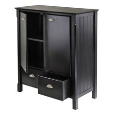 Winsome Wood 20136 Timber Decorative Storage Cabinet 346.00 lowe's piano storage
