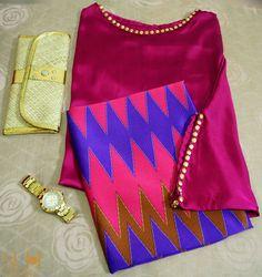 Harga : 1 set IDR 210000 Atasan : Malay Loose Top Magenta, Material : Seta Silk (semacam satin sutera) Ukuran : All size (S-XL) Harga : IDR 120000  Bawahan : Songket motif Rangrang SK2, Material : Seta Silk (semacam satin sutera) Ukuran : 180x115cm Harga : IDR 110000  For Shopping Contact :  WA 082143302240 SMS 08563170255 Line paramita_dew BBM 73FDE4FF