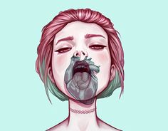 """Check out new work on my @Behance portfolio: """"Heartless Bitch #1"""" http://be.net/gallery/44356117/Heartless-Bitch-1"""