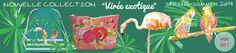 Nouvelle collection exotique Corailindigo ! Cette collection solaire et exotique réveille nos envies d'été et nous plonge dans une jungle fraîche et colorée. Kits couture de sacs et trousses, pochettes de beauté..!! http://www.corail-indigo.com/creations/kit-trousse-evasion-tropicale/