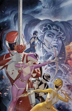 Shop for Mighty Morphin Power Rangers #17 (Cover F) from Boom! Studios - written by Kyle Higgins. Comic book hits store shelves on July 19, 2017