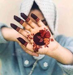 Rose Mehndi Designs, Henna Tattoo Designs Simple, Finger Henna Designs, Latest Bridal Mehndi Designs, Stylish Mehndi Designs, Full Hand Mehndi Designs, Mehndi Designs For Girls, Mehndi Designs For Beginners, Mehndi Design Photos