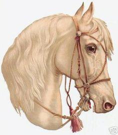 Art Vintage, Vintage Horse, Vintage Ephemera, Vintage Postcards, Vintage Images, Vintage Prints, Vintage Clip, Horse Head, Horse Art