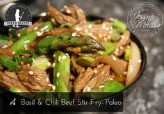 Basil and Chili Beef Stir-Fry – Paleo