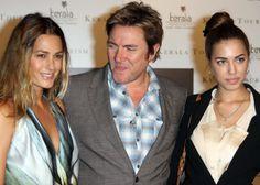 Yasmin , Simon and Amber Le Bon