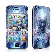 iPhone 4 Skin - Silence Seeker