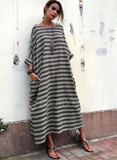 Shop Floryday for affordable Dresses. Floryday offers latest ladies' Dresses collections to fit every occasion. Linen Dresses, Casual Dresses, Floryday Dresses, Shift Dresses, Cheap Dresses, Dress Outfits, Vetement Hippie Chic, Look Boho, Affordable Dresses