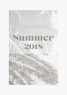 Summer 2018 // The Logo Series #design #typography #summer #layout #graphicdesign #designblog
