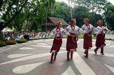 """""""Jaselka"""", festividade natalina da comunidade polonesa. Local: Memorial da Imigração Polonesa – Bosque do Papa (Rua Mateus Leme, s/nº – Centro Cívico). Curitiba, Paraná."""
