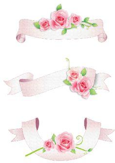 Scrap rosas vintage | arte para decoración | ilustraciones