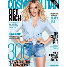 Can we all just take a moment to talk about how frekkin' INCRED our April cover girl @hilaryduff looks?!  On shelves tomorrow get it while it's hot!  via COSMOPOLITAN AUSTRALIA MAGAZINE OFFICIAL INSTAGRAM - Celebrity  Fashion  Haute Couture  Advertising  Culture  Beauty  Editorial Photography  Magazine Covers  Supermodels  Runway Models