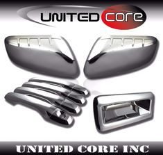 FOR MAZDA TRIBUTE 08-10 CHROME MIRROR COVER DOOR HANDLE COVER