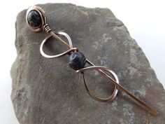 Shawl Pin Shawl Pins Copper Scarf Pins Copper by FULLMOONJEWELLERY, $18.00