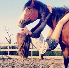 Soo cute. Want to do this in the summer. If one of the horses at the barn will stand still and be calm. I'll just have to try it out!