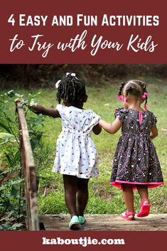 4 Easy and Fun Activities to Try with Your Kids - Kaboutjie Summer Activities For Kids, Family Activities, Stem Activities, Tips & Tricks, All Family, Mom Hacks, Parenting Hacks, Parenting Classes, Infant Activities
