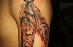 142 best native american tattoos images dreamcatcher