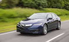 2015 Acura TLX test drive