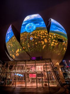 ☮ Unique Modern Architecture Night @ the museum by Edward  Tian, via 500px