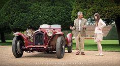 1932 Alfa Romeo 8C 2300 Short Chassis Zagato Spyder - 2014 Hampton Court Concours of Elegance