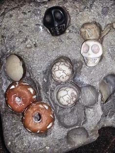 Skull And Bones, Custom Jewelry, Skulls, Awesome, Etsy, Personalized Jewelry