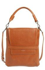 Matt & Nat 'Riley' Faux Leather Crossbody Bag - Brown An optional top handle and detachable, adjustable crossbody strap add styling versatility to a roomy bag done in classic, wear-with-anything hues. Made from durable faux leather and lined with nylon made from recycled bottles, this is a fashionable bag you can feel good about.
