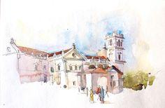 Urban Sketchers: Sketching Goa, India