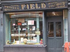 Old shop front of which there are plenty of here in Ireland.