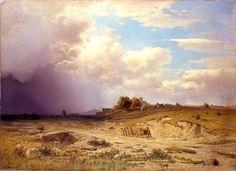 ADOLF KOSÁREK (1830 - 1859) Autumn landscape