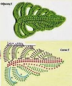 Easy Crochet Rose Flower Free Pattern in 9 Steps This Pin was discovered by Ton 4 beautiful leaves to crochet Marianacrochetvzla on – Artofit Crochet Leaf Patterns, Crochet Leaves, Crochet Motifs, Freeform Crochet, Crochet Chart, Crochet Designs, Easy Crochet, Crochet Stitches, Tutorial Crochet