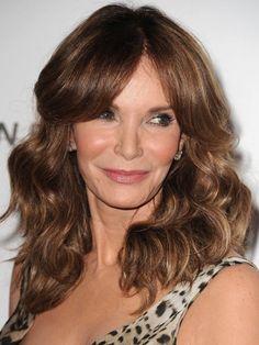 Celebs Over 50 Long Hair | Trendy Highlights for Brunette Hair – Gorgeous Brunette Hairstyles ...