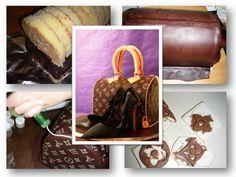 Tutorial Handtaschen-Torte