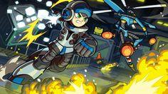 """Annoncé en Avril dernier pour une sortie prévue pour le 18 Septembre prochain sur Current et Next-Gen mais aussi sur Vita et 3DS, Mighty No. 9 nous revient ce mercredi avec la diffusion par Deep Silver d'un nouveau gameplay trailer intitulé """"Battez-les à leur propre jeu"""". Par la même occasion, il a été annoncé que le DLC """"Retro Hero"""" sera offert pour toute préco en digital ou chez Micromania."""
