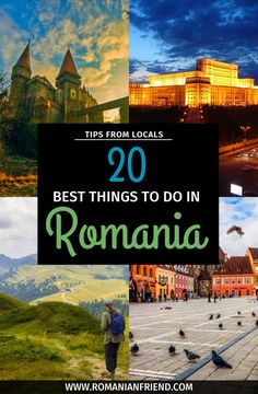Discover a list of the best things to do in Romania and Transylvania, made by locals! The most popular tourist attractions, places to visit, interesting and unique things to do - with tips and tour suggestions! Travel Tours, Shopping Travel, Budget Travel, Travel Destinations, Transylvania Romania, Visit Romania, Romania Travel, Beach Trip, Beach Travel