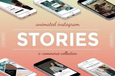 Animated E-Commerce Stories by DESIGN SPLY on @creativemarket