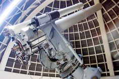 Zeiss Telescope at the Griffith Observatory.