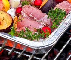 Кролик с фруктами на гриле, рецепт приготовления - Портал «Домашний»