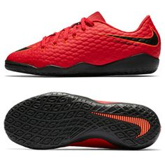 Nike Youth HypervenomX Phelon III Indoor Soccer Shoes (Crimson): https://www.soccerevolution.com/store/products/NIK_13244_F.php