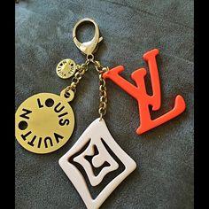 Porte Cles bag charm/key chain High class quality, brass Louis Vuitton Accessories