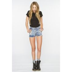 Chloe Top ❤ liked on Polyvore
