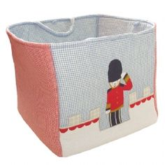 £29.99 Keep your toy soldier room looking spick and span with this lovely toy tidy
