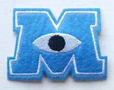 Monsters Inc. 'M' Iron on Sew on Embroidered Patch From P... https://www.amazon.co.uk/dp/B00ANL6ZM8/ref=cm_sw_r_pi_dp_x_fRFWxbC4CKFS1