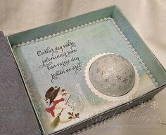RANDI'S LILLE BLOGG: Eske med Snøball-sjokolade - Tutorial Christmas Cards, Nye, Scrapbooking, Christmas E Cards, Xmas Cards, Christmas Letters, Scrapbooks, Memory Books, Scrapbook