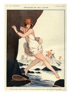 La Vie Parisienne, Armand Vallee, 1923, France Posters at AllPosters.com