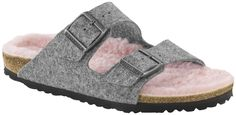 Arizona fans will be happy to discover this version of their favorite sandals since they will keep their feet warm in winter.  A textile-based lining in warm and cozy new wool is covering its anatomically formed original Birkenstock...