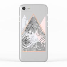 Shop clear iPhone cases featuring brilliant patterns and designs on frosted, transparent. on @society6 BLUSH, COPPER, GRAY, PINK, MARBLE, GEOMETRIC, PATTERN, TROPICAL , HIPSTER, TRENDY, SOCIETY6, TRIANGLES, SCANDINAVIAN, PRINT, DUVET, BLACK AND WHITE, LEAVES, LEAF, SUMMER, FASHION, NATURE, INTERIOR DESIGN, HOME STYLE, DECORATION, HOME DECOR, DESIGN